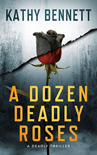 Book cover black and red rose in mist