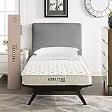 Modway Emma 6' Queen Mattress - Firm 6 Inch Queen Mattress - 10-Year Warranty