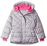 ZeroXposur Lexy Big Girls Puffer Jacket, Metal, Large