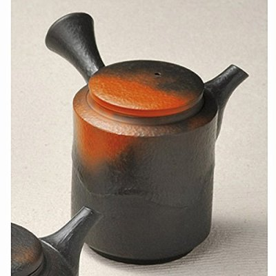 Japanese ceramic Tokoname ware. Kyusu teapot. 210cc