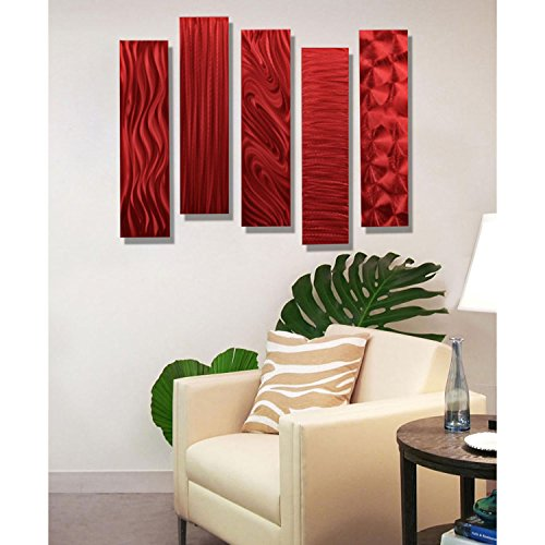 Daring, Bold and Modern Red Wall Art | Home Wall Art Decor