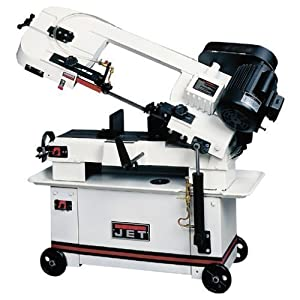 """JET 414459 HVBS-7MW 7"""" 3/4-HP Band Saw Review"""