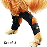 Spark·M-1 Pair Dog Leg Brace,Dog Hock (Ankle) Support,Heals and Prevents Injuries and Sprains,Helps with Loss of Stability Caused by Arthritis.2019 Upgrade (Small)