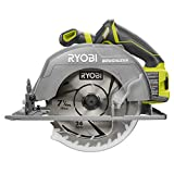 Ryobi P508 One+ 18V Lithium Ion Cordless Brushless 7 1/4 3,800 RPM Circular Saw w/ Included Blade (Battery Not Included, Power Tool Only)