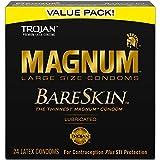 MAGNUM BareSkin Large Condoms, 24ct
