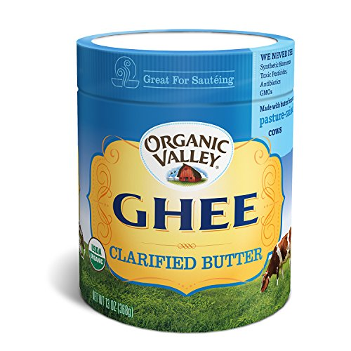 Organic Valley Organic Ghee, Clarified Butter Oil (13 Ounces)