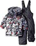 Wippette Baby Boys and Toddler Insulated Snowsuit, Camouflage Ebony, 12M