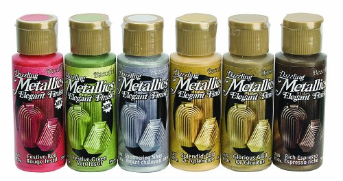 DecoArt DASK268 Dazzling Metallics Sample Pack