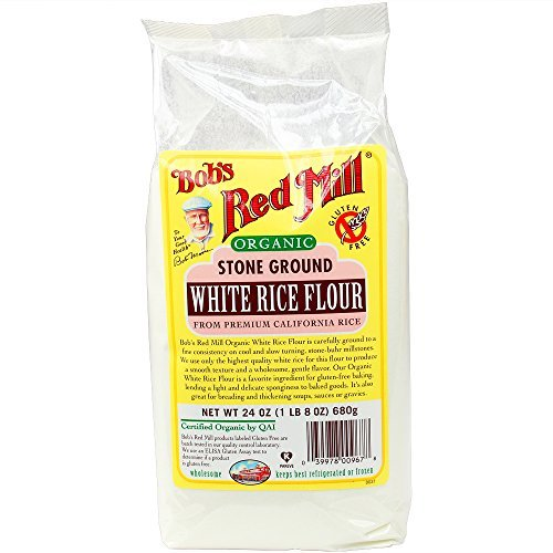 Bob's Red Mill Gluten Free White Rice Flour, 24 oz