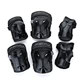 YAHILL Multi-Use Safety Protective Gear Child Helmet, or Children/Kids/Adults Knee Elbow Wrist Pads, for Cycling Roller Skating and Other Extreme Sports(Pads(Children-XS))