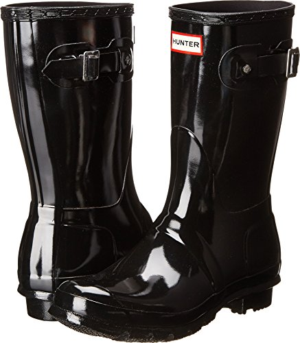 Hunter Womens Original Short Black Rain Boot - 6 B(M) US