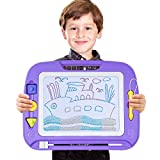 """SGILE Magnetic Drawing Board Toy, 13X17"""" Magna Doodles Sketch Erasable Pad for Writing Kids Toddler Boy Girl Painting Learning Birthday Gift Present, Extra Large"""