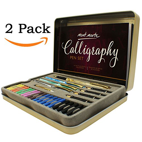 Calligraphy Pens Set by Mont Marte