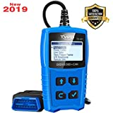 Tvird OBD 2 Scanner Universal Car Engine Fault Code Reader Classic Enhanced Diagnostic Scan Tool - Black and Blue