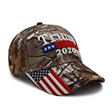 Donald Trump Hat 2020 Keep America Great Camo MAGA Hat Adjustable Baseball Hat