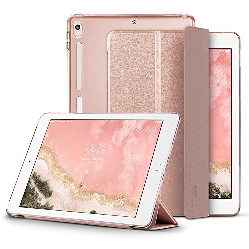 ESR Case for iPad Pro 10.5', Smart Case Cover with Auto Wake Sleep Function [Soft TPU Bumper Edge Corner Protection] [Easy to Take on/Off] for Apple iPad Pro 10.5-inch(Rose Gold)