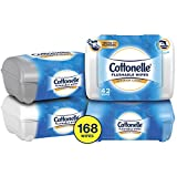 Cottonelle Flushable Wet Wipes, 42 Wipes per Pack, Pack of 4