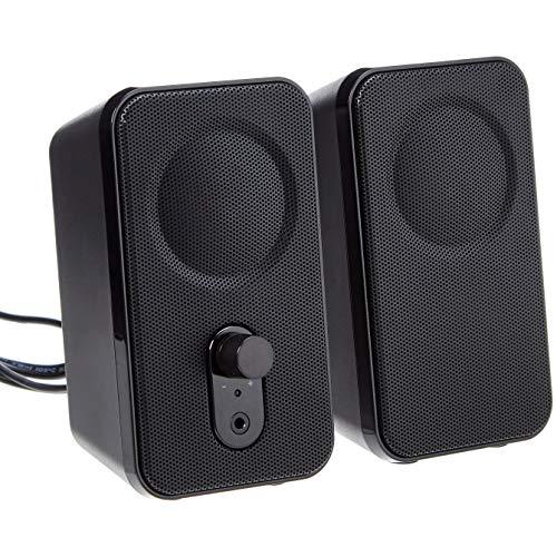 AmazonBasics Computer Speakers for Desktop or Laptop