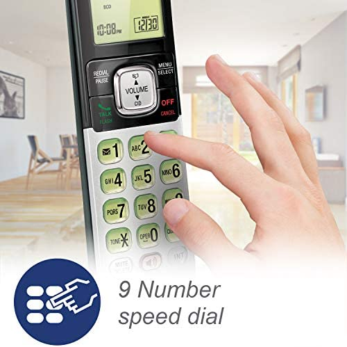 VTech CS6719-2 2-Handset Expandable Cordless Phone with Caller ID/Call Waiting, Handset Intercom & Backlit Display/Keypad 17