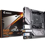 GIGABYTE B450 I AORUS PRO Wi-Fi (AMD Ryzen AM4/Mini ITX/M.2 Thermal Guard with Onboard Wi-Fi/HDMI/DP/USB 3.1 Gen 2…