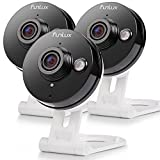 Funlux Wireless 720p HD - 115°Wide Viewing Angle - Smart Home WiFi IP Security Camera System with 2 - way Audio, Infrared Night Vision and Motion Detection
