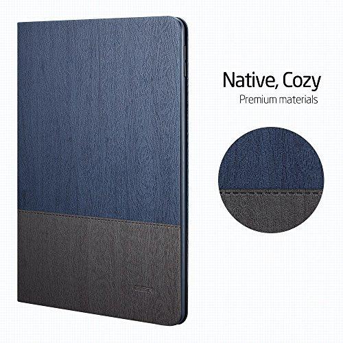ESR Urban Premium Folio Case for iPad 9.7 2018/2017, [Apple Pencil Holder], Book Cover Design, Multi-Angle Viewing Stand, Smart Cover Auto Sleep/Wake for iPad 9.7' 2018/2017 (Knight Blue)