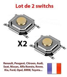Switch-bouton-cl-tlcommande-plip-Peugeot-citroen-renault-toyota-nissan-bmw-VW-kia