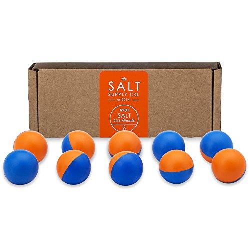 SALT Supply Pepper Spray + Tear Gas Rounds for The Self Defense Gun (10-Pack)