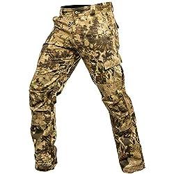 Kryptek Stalker Camo Hunting Pant (Stalker Collection), Highlander, M