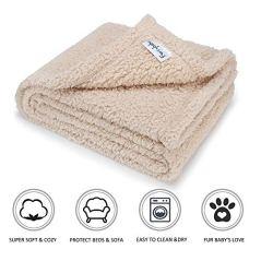 Furrybaby-Premium-Fluffy-Fleece-Dog-Blanket-Soft-and-Warm-Pet-Throw-for-Dogs-Cats-Medium-32x40-Beige
