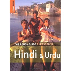Rough Guide Phrase Book Hindi And Urdu 3e