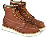 Thorogood 804-4200 Men's American Heritage 6' Moc Toe, MAXwear Wedge Safety Boot, Tobacco Oil-Tanned - 10.5 D(M) US