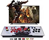 Happybuy 1500 Pandora Box add Additional Games with Full HD Arcade Console Upgraded CPU 2 Players Pandoras Box 9s Retro Arcade Station x with Arcade Joystick Support HDMI VGA USB