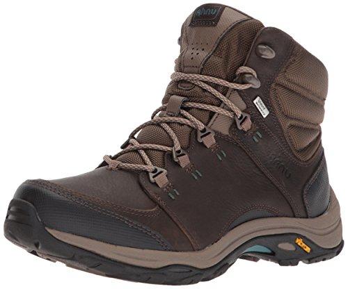 Ahnu Women's Mens Hiking Boot Dark Brown 9 Medium US