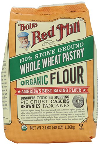 Bob's Red Mill Organic Whole Wheat Pastry Flour, 48 oz