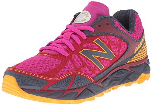 New Balance Women's LEADVILLEV3 Trail Shoe-W, Pink/Grey, 7 B US