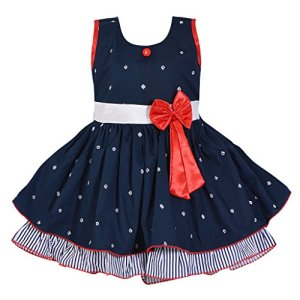 Wish Karo Baby Girls Cotton Frock Dress for Girls Dress – Cotton – (ctn054)