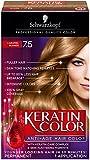 Schwarzkopf Keratin Hair Color, Caramel Blonde 7.5, 2.03 Ounces
