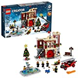 LEGO Creator Expert Winter Village Fire Station 10263 Building Kit, New 2019