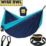Cool things about our hammocks: *VERY COMFORTABLE and extra soft (as soft as ENO - and yes we checked) *SUPER STRONG parachute nylon fabric (210T Nylon). *EXTRA SAFE because it has triple interlocking stitching so you won't fall through *HAS EVERY...