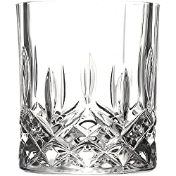 Crystal Double Old Fashioned Glass, Set of 6