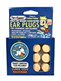 PUTTY BUDDIES Floating Earplugs 3-Pair Pack - Soft Silicone Ear Plugs for Swimming & Bathing - Invented by Physician - Keep Water Out - Premium Swimming Earplugs - Doctor Recommended (Tan)