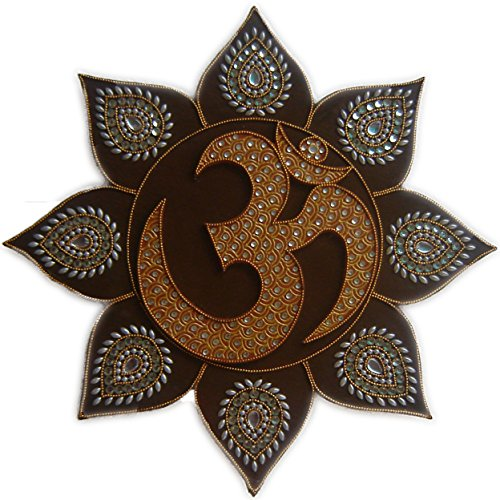Yoga Room Decor Om Symbol Wall Painting Boho Decor For