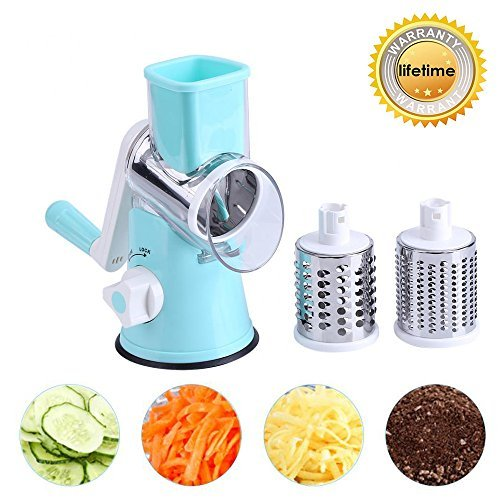 Vegetable Mandoline Manual Slicer, ZOLLOR Fast...