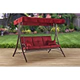 Mainstay* Hammock Swing for 3-Person, (Callimont Park, 3-Person (RED))
