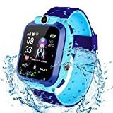 Bohongde Kids Smartwatch Waterproof, with SOS , Camera, Alarm Clock ,1.44 HD Screen ,Games for 3-12 Year Old Boys Girls Great Gift .
