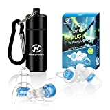 High Fidelity Concert Ear Plugs, Hearprotek 20db Noise Reduction Music Earplugs-Hearing Protection for Musicians, DJ's, Drummers, Percussion, Festival, Nightclub and Other Loud Events