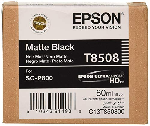 Epson-T850800-T850-UltraChrome-HD-Matte-Black-Ink