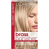 L'Oreal Paris Colorist Secrets Brass Banisher, Color Balancing Gloss Treatment