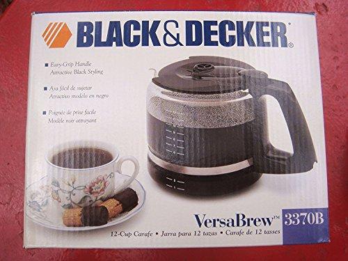 Black & Decker VersaBrew 3370B 12-Cup Replacement Carafe